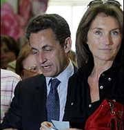 Бывшая жена Николя Саркози снова сыграет свадьбу