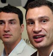 Братья Кличко будут драться друг с другом