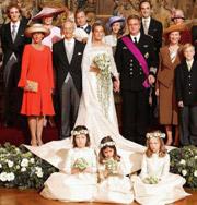 Самые шокирующие королевские свадьбы. Фото