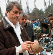 Ющенко будет жить на вокзале
