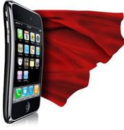 Президенту подарили iphone