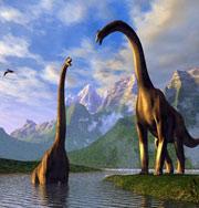 Динозавры привлекали самок гребнями
