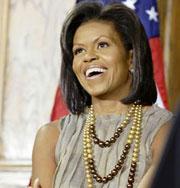 Странные прические жены президента. Фото