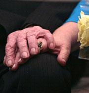 103-летние тоже женятся. Необычная свадьба. Фото