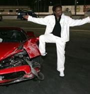 Самые дорогие аварии знаменитостей. Фото
