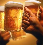 От пива не поправляются