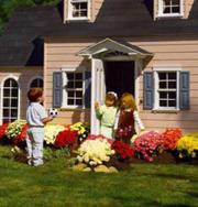 Игрушечные домики для детей миллионеров. Фото