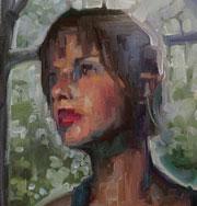 Портреты, нарисованные по Skype. Фото