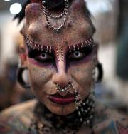 Самые экстремальные татуировки. Фото