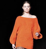Платье-свитер: тепло и модно. Фото