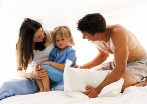 Если ребенок капризничает перед сном