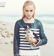 Мода: чудесная релаксирующая фотосессия с Виктория Сасонкиной в ELLE Romania. Фото
