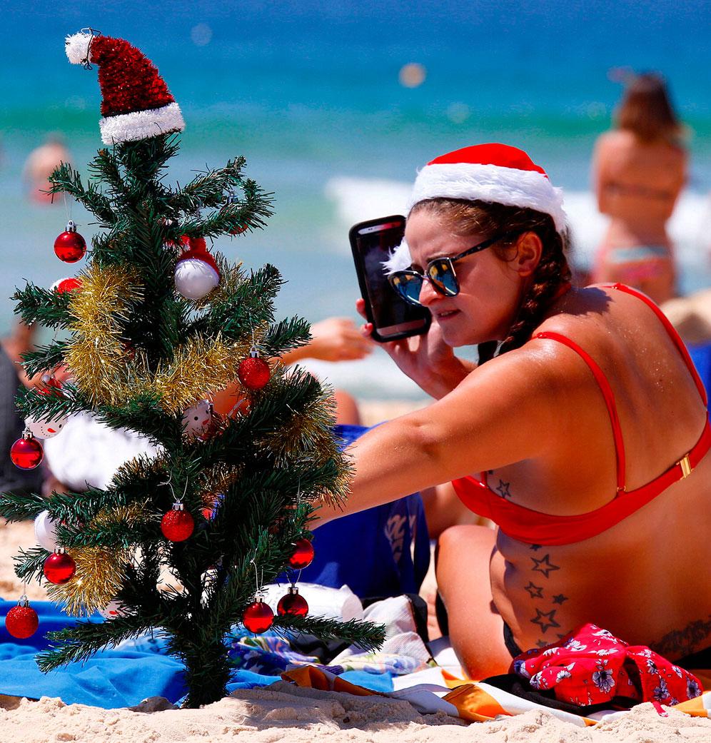 Самый необычный Новый год: летом в Австралии. Фото
