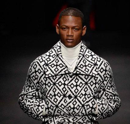 Мода для мужчин: Версаче представила коллекцию осень-зима. Фото