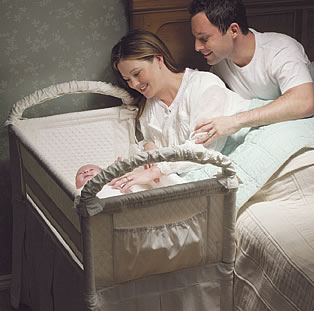 Еще один способ уложить младенца спать
