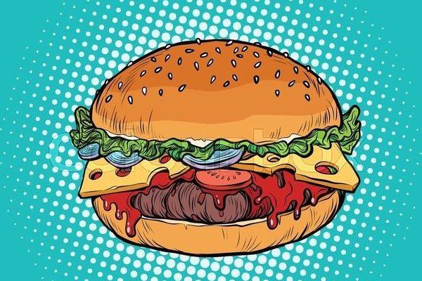 Обманчивый эффект ореола и низкокалорийный гамбургер