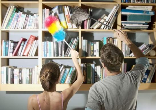 Совместная уборка в доме укрепляет семейные отношения