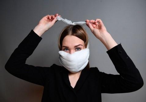 Как сделать аналог медицинской маски самостоятельно. Три варианта