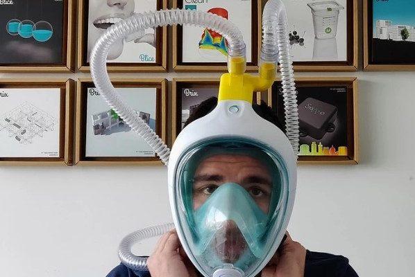 Спасти жизни больным коронавирусом помогают… маски для подводного плавания