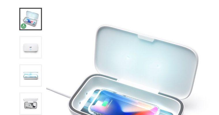 В продаже появились зарядки-санитайзеры, убивающие вирусы на поверхности мобильных телефонов