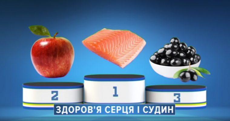 ТОП-3 продуктов для здоровья сердца и сосудов