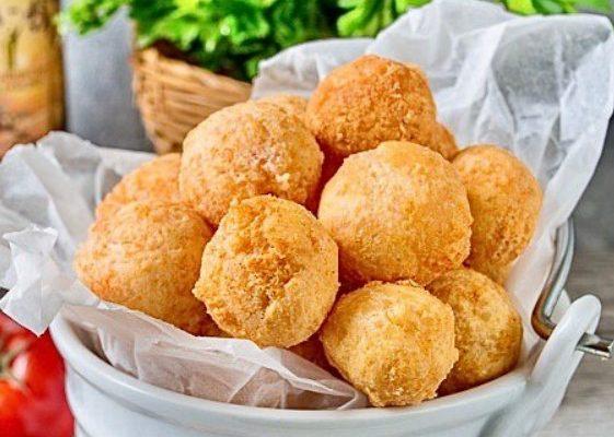 РЕЦЕПТ ДНЯ: сырные шарики