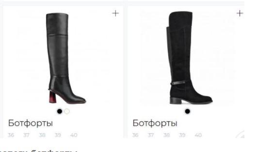 Про женские ботфорты